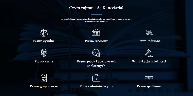 KREYATIF Studio grafiki i reklamy - strony www - kancelaria